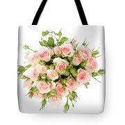 Bouquet Of Garden Roses Tote Bag