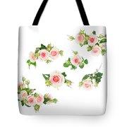 Graden Roses Tote Bag