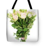 Garden Roses Bouquet Tote Bag