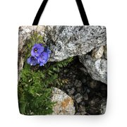 Violet Climbing  Tote Bag
