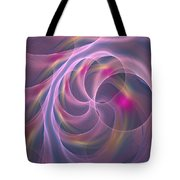 Violet Dreamy Feel Tote Bag