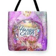 Violet Easter Tote Bag