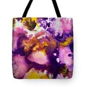 Violet Explosion  Tote Bag