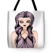 Violet Femme Tote Bag