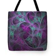 Violet Green Dimensions 16x9 Tote Bag