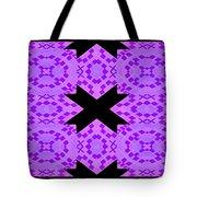 Violet Haze Abstract Tote Bag