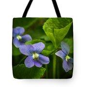 Violet In The Wild Tote Bag