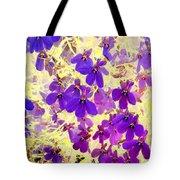 Violet Moths Tote Bag