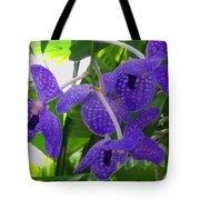 Violet Orchid Trio Tote Bag