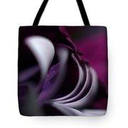 Violet Petals Tote Bag