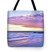 Violet Skies At Nighfall Tote Bag