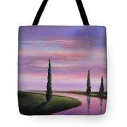Violet Sky Tote Bag