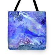 Violet Storm Tote Bag