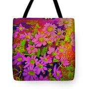 Violets Among The Heather Tote Bag