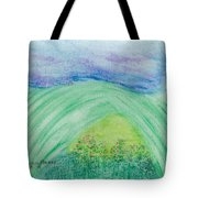Violets In The Summertime Tote Bag