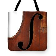 Violin Clef Tote Bag