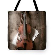 Violin Tote Bag by Garry Gay