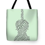 Violin Of Fame Tote Bag