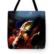 Violin Painting Art 321 Tote Bag