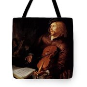 Violin Player 1653 Tote Bag