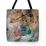 Violinist 56 Tote Bag