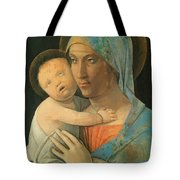 Virgin And Child 1495 Tote Bag