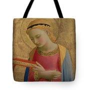 Virgin Annunciate Tote Bag