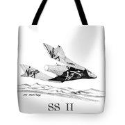 Virgin Galactic Vehicle. Space Ship Two Tote Bag