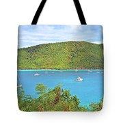 Virgin Island Getaway Tote Bag