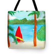 Virgin Island Memories Tote Bag