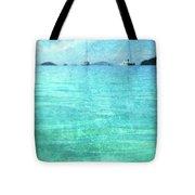 Virgin Islands Blues Tote Bag