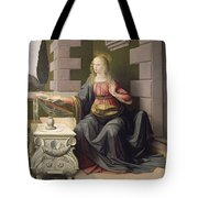 Virgin Mary, From The Annunciation Tote Bag