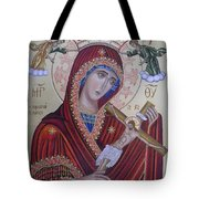 Virgin Mary Of Death Tote Bag