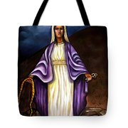 Virgin Mary- The Protector Tote Bag