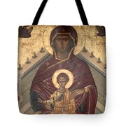 Virgin Mary With Baby Jesus  Tote Bag