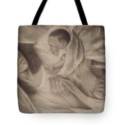 Virgin Maryan Jesus Tote Bag