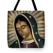Virgin Of Guadelupe Tote Bag