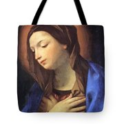 Virgin Of The Annunciation Tote Bag