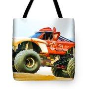 Virginia Beach Monster Truck Rally Tote Bag