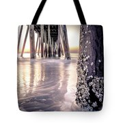 Virginia Beach Pier 2 Tote Bag
