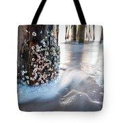 Virginia Beach Pier Tote Bag