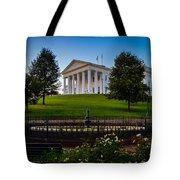 Virginia Capitol Building Tote Bag