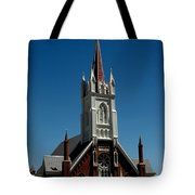 Virginia City Church St Mary Tote Bag