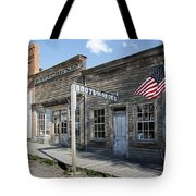 Virginia City Ghost Town - Montana Tote Bag by Daniel Hagerman