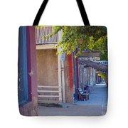 Bob's Place Virginia City Montana Tote Bag