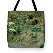 Virginia City Named After Henry Comstock Tote Bag