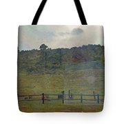Virginia Dale-reflections On The Cemetery Tote Bag