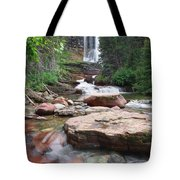 Virginia Falls - Glacier N.p. Tote Bag