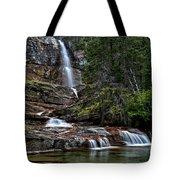 Virginia Falls In The Pool Tote Bag