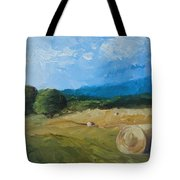 Virginia Hay Bales II Tote Bag